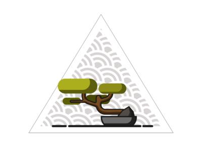 Bonsai vector tree
