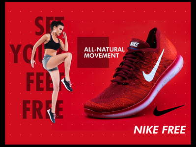 Nike Free design layout - Challenge