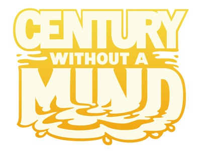 Century Without A Mind Webcomic Custom Logo logodesign logotype webcomic design vector hand-lettering letters handlettering type typography lettering