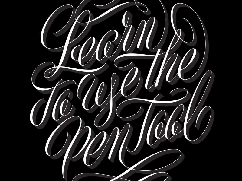 Learn to use the pen tool vector pen tool handlettering letters typography type lettering