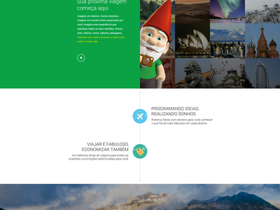 Startup Landing Page startup landing page ui ux interface travel travelling design big picture