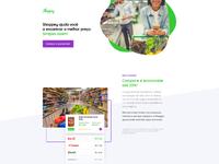 Shoppey landing page