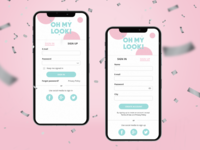 Daily UI 001 // SIGN UP