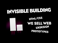 Invisible Building - Web banner