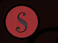 S is for shot.
