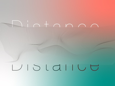 distance design typogaphy typographic typography art designer typography design typography