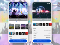 Event ticket purchase app