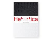 Helvetica font poster