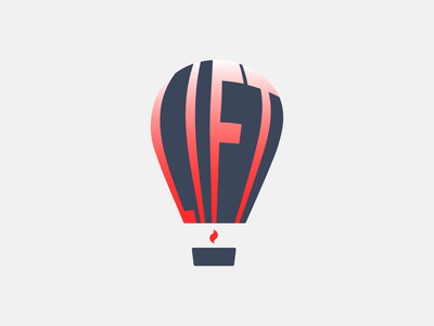 Daily logo challenge day01:Hot Air Balloon