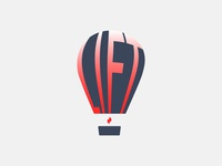 Daily logo challenge day02:Hot Air Balloon