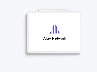 logo for Alay Network design minimalist logo modern logo graphic design