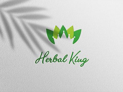 harbal king creative colorfullogo typography logo branding design clean logo minimalist logo modern logo graphic design