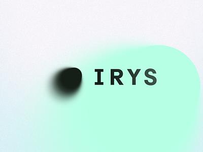 Irys tech toronto branding startup logo design brand identity