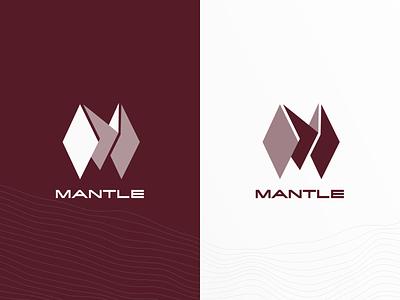 Mantle Blockchain technology startup design graphic blockchain toronto branding logo brand identity