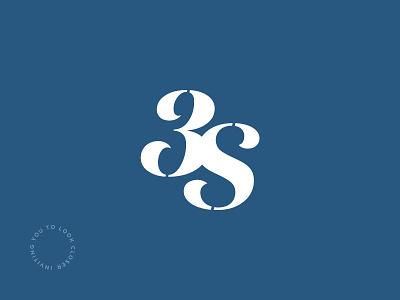 Three Ships – Logomark beauty closer look graphic care skin 3 icon logotype logomark logo design identity branding brand