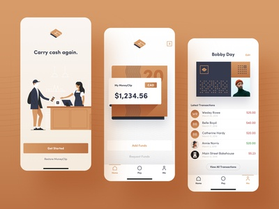 App Design – MoneyClip