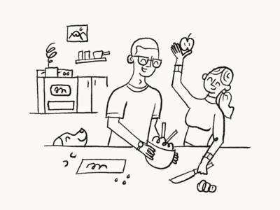 Lifestyle Illustration – Home