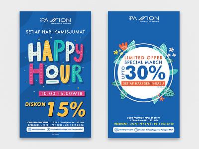 Banner Promotion for The Passion vector graphic  design banner design branding design