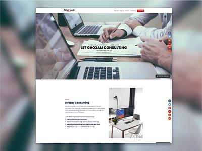 Ghozali.net ui design webdesign
