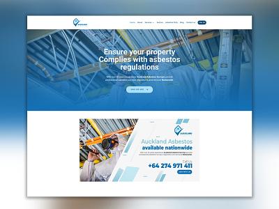 Auckland Asbestos graphicdesign logo graphic  design logo design ui graphic design branding design webdesign