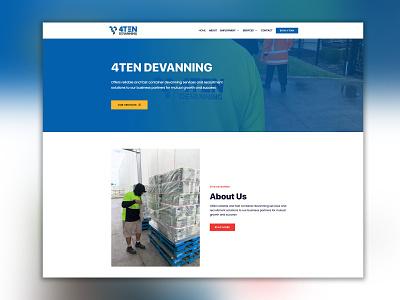 4TENDEVANING web design website logo businesscard vector logo design ui graphic design graphicdesign branding design