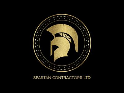 Logo Design for Spartan Constractors.Ltd graphic design vector ui logo design branding