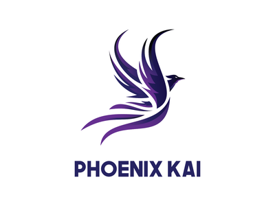Logo Design for Phoenix Kai ui rebranding banner design logo graphic design branding logo design design