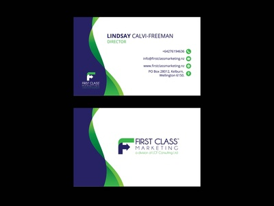 First Class Business Card