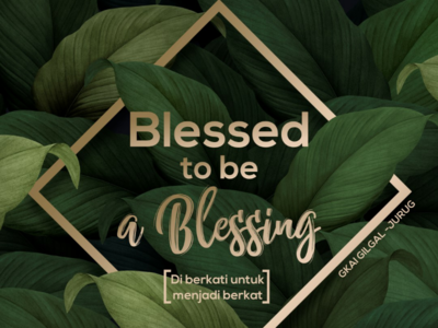 Blessed // Nature // Graphic Design