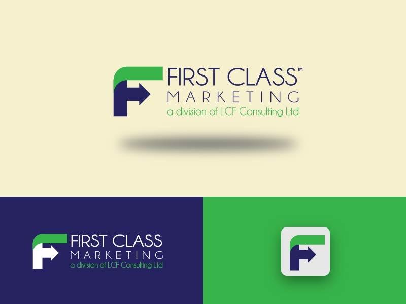 First Class // Logo Design branding logo