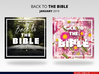Back to The Bible // Graphic Design