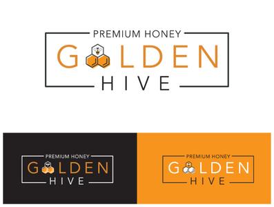 Golden Hive // Logo