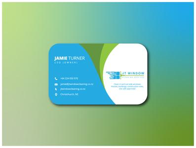 JT Window // Busness Card businesscard graphicdesign branding design
