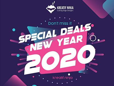 Special Deals // Promotion // Branding graphic design banner promotion