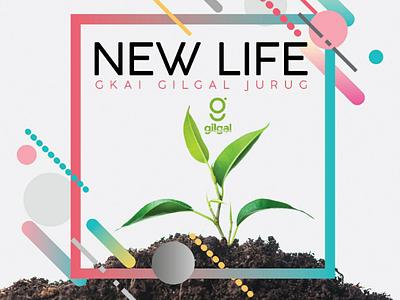New Life // Graphic Design design banner graphic title