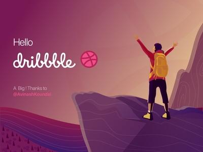 1st shot  hello dribbble !