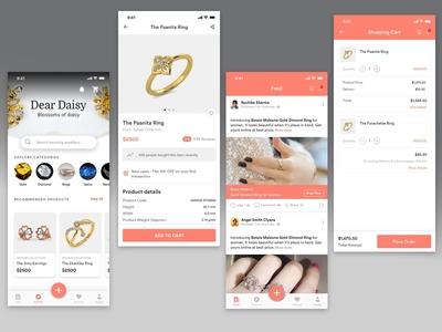 Jewellery App Concept