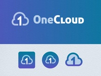 One cloud logo