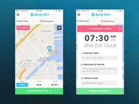 Ride Sharing Screenshots