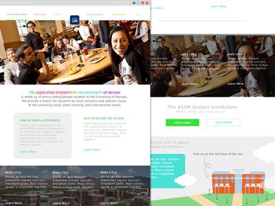ASUN Website redesign