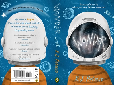 """Wonder"" Book Cover Redesign"