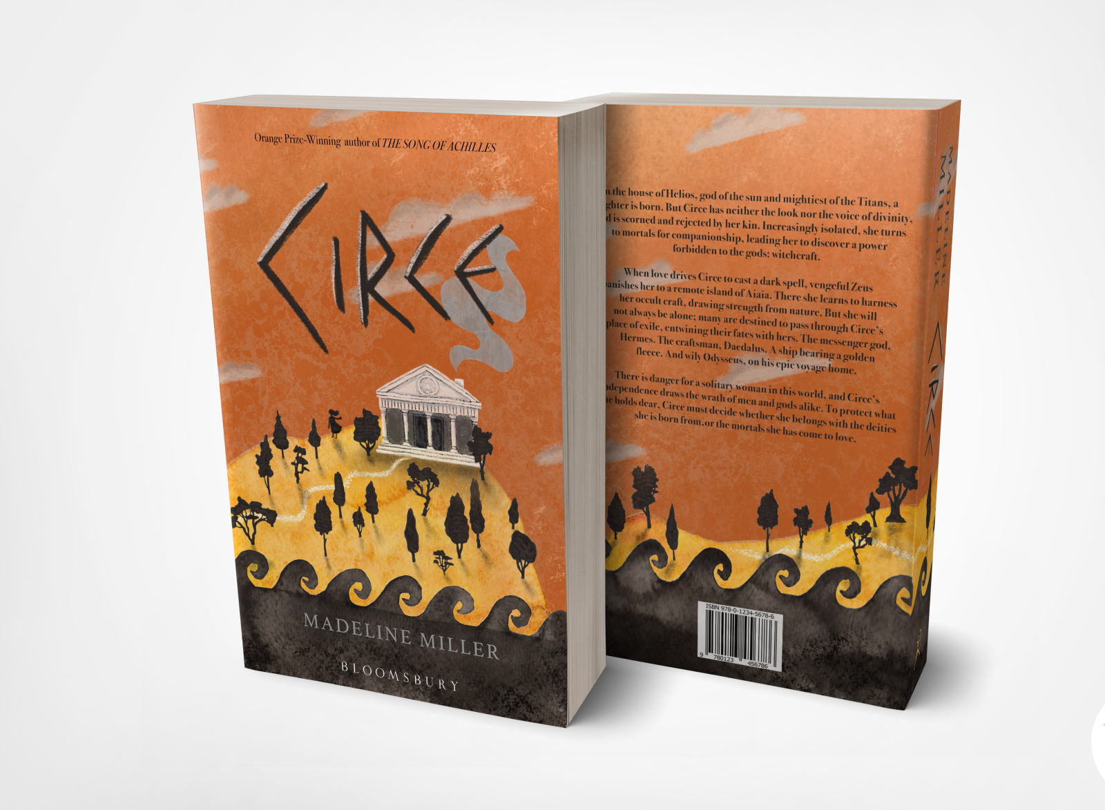 Circe Book Cover Redesign By Lucy Rogers On Dribbble