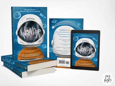 'Wonder' Book Cover Redesign