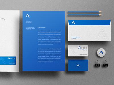 ACCES | Soluciones en Sistemas logo design logo branding identity design