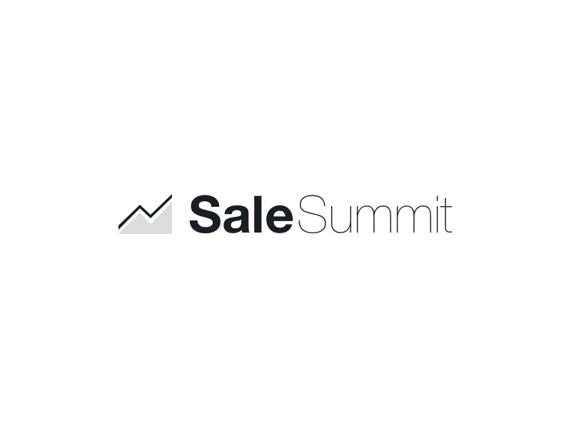 SaleSummit Logo logo sale statistics analytics summit
