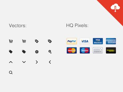eCommerce Icons Set