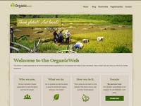 Organic Web Wordpress Theme Preview