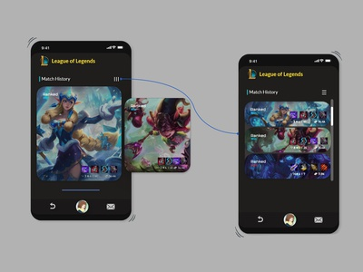 reimagined garena app (trial #2)