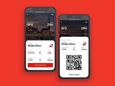 Daily UI 024 - Boarding pass daily ui 024 boardingpass dailyui ux ui design ticket app