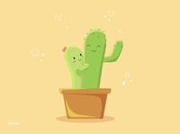 cactus fell in love